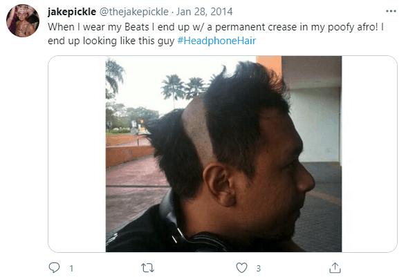 how to prevent headphone hair meme
