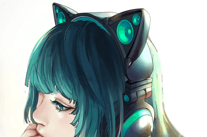 cat ear headphones craze anime