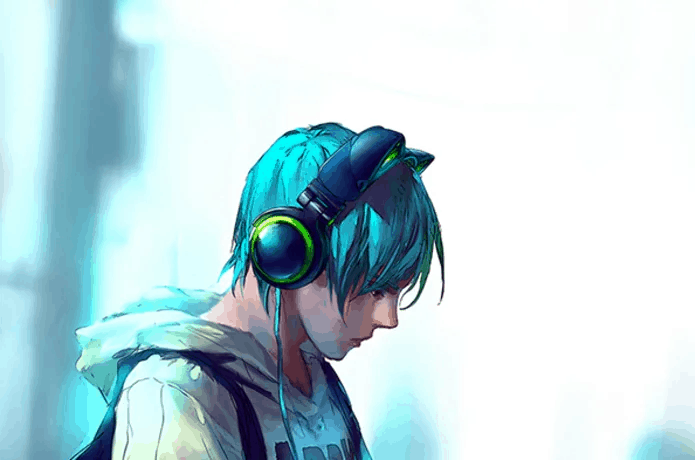 cat ear headphones craze anime 2