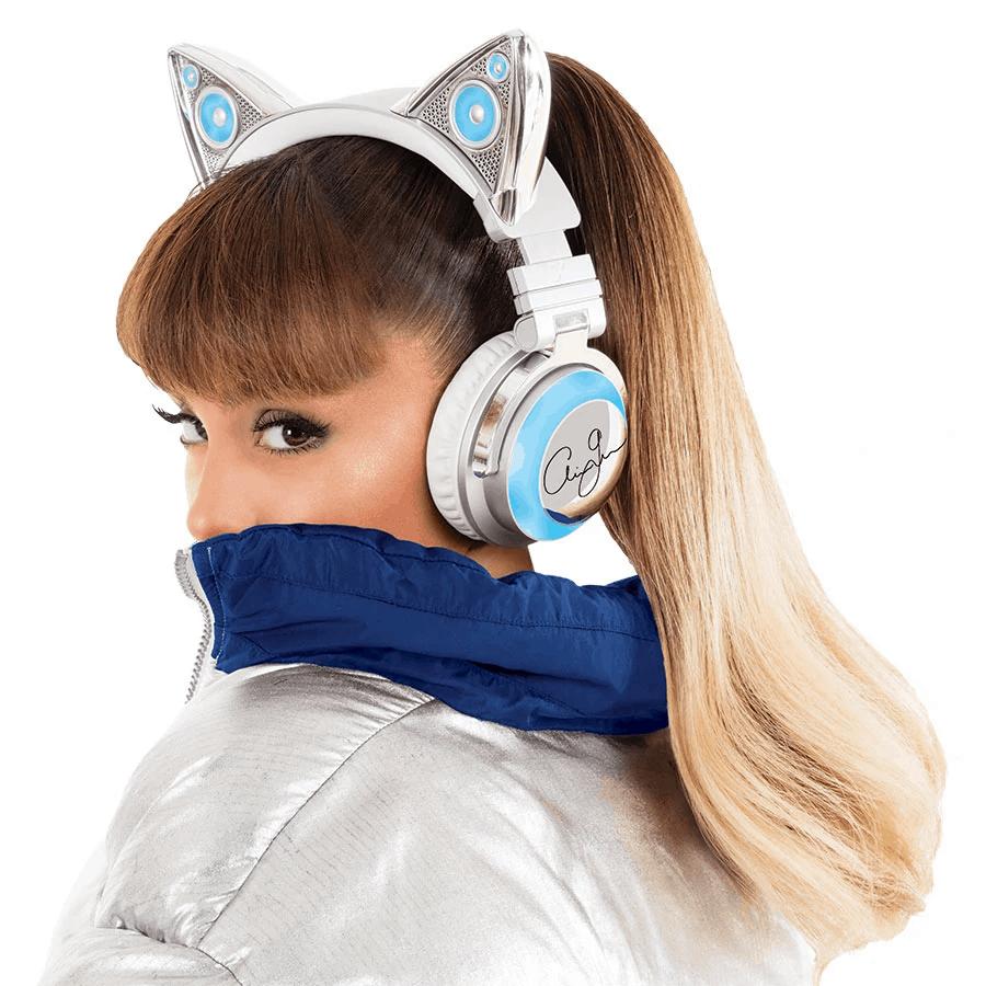 Ariana grande cat ear headphones
