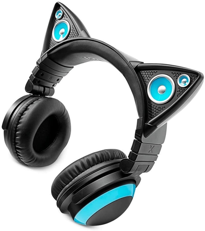 Brookstone wireless cat ear headphone